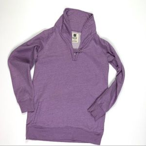 Levi's Lilac One Button Sweatshirt